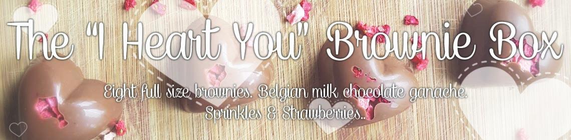 "TheBrownieEdit.com - ""I Heart You"" Brownie Box"