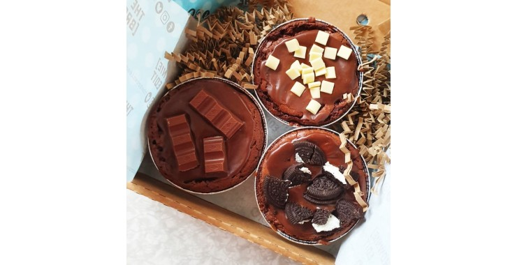 Big Fat Brownie Pies (Box of 3)