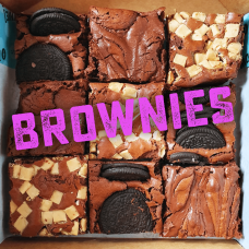 The Caramel Brownie Box